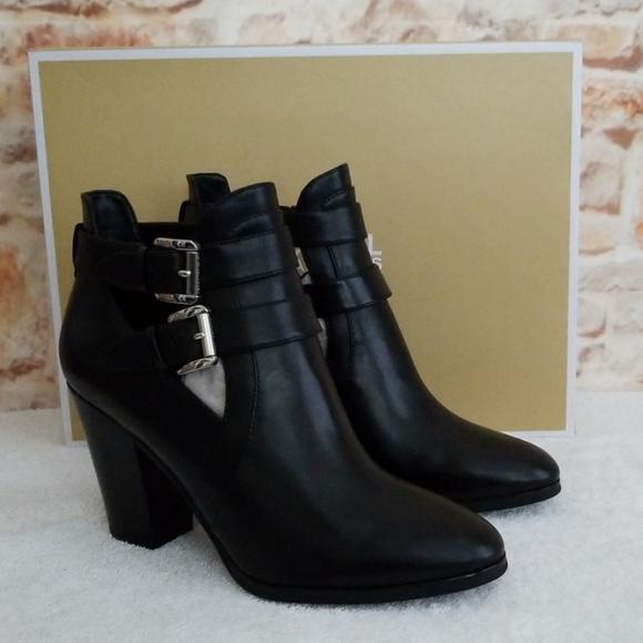 New Michael Kors Walden Leather Bootie